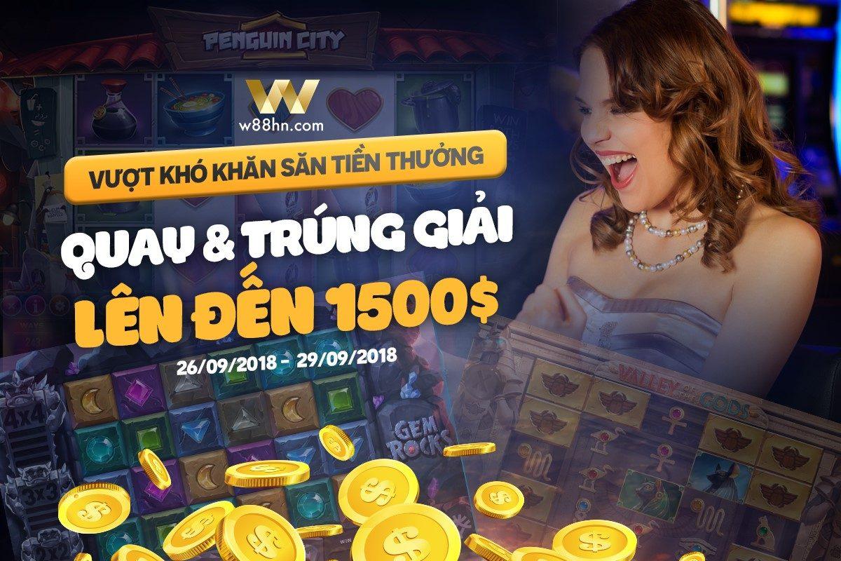 Giải đấu slotgame w88 - Tham gia các giải đấu casino w88 và chiến thắng